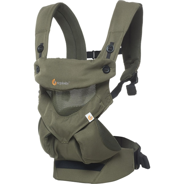 ERGObaby Babytrage 360° Cool Air Mesh Khaki Green